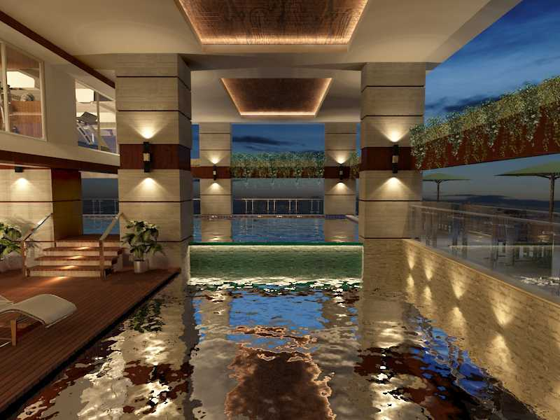 Alima Studio Maqna Residence Meruya, Jakarta, Indonesia Meruya, Jakarta, Indonesia Swimming Pool   21329