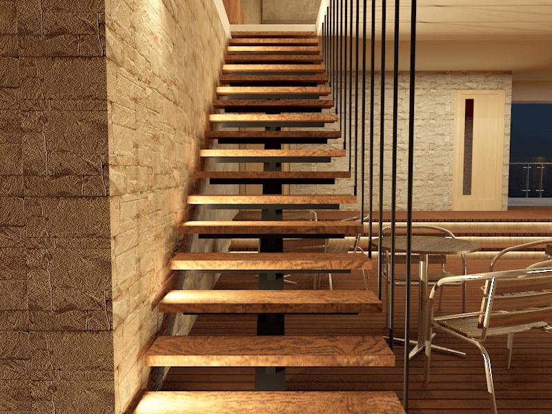 Alima Studio Maqna Residence Meruya, Jakarta, Indonesia Meruya, Jakarta, Indonesia Stairs   21334