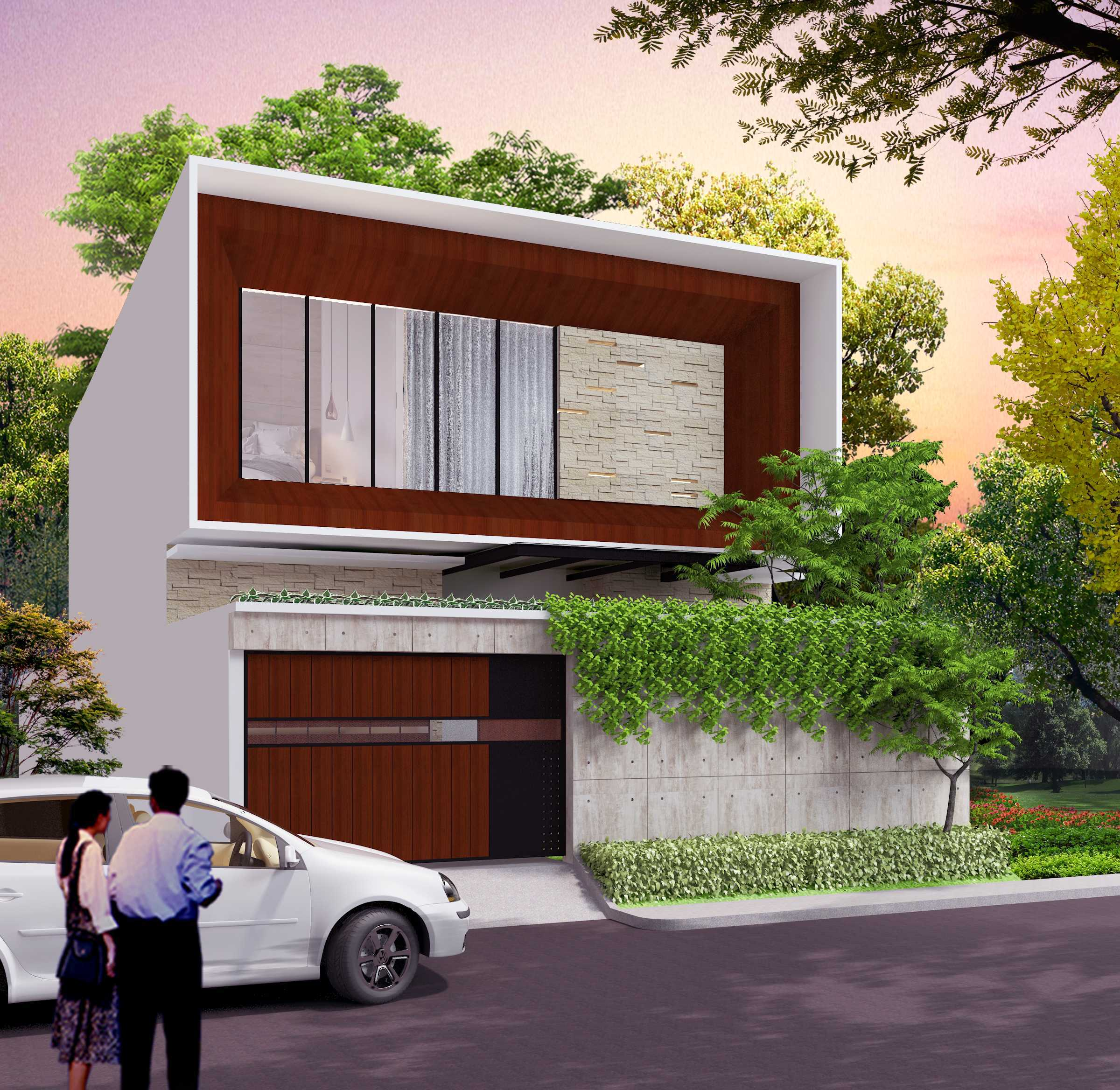 Alima Studio Mr. A's House Jakarta, Indonesia Jakarta, Indonesia Front View Kontemporer  27827