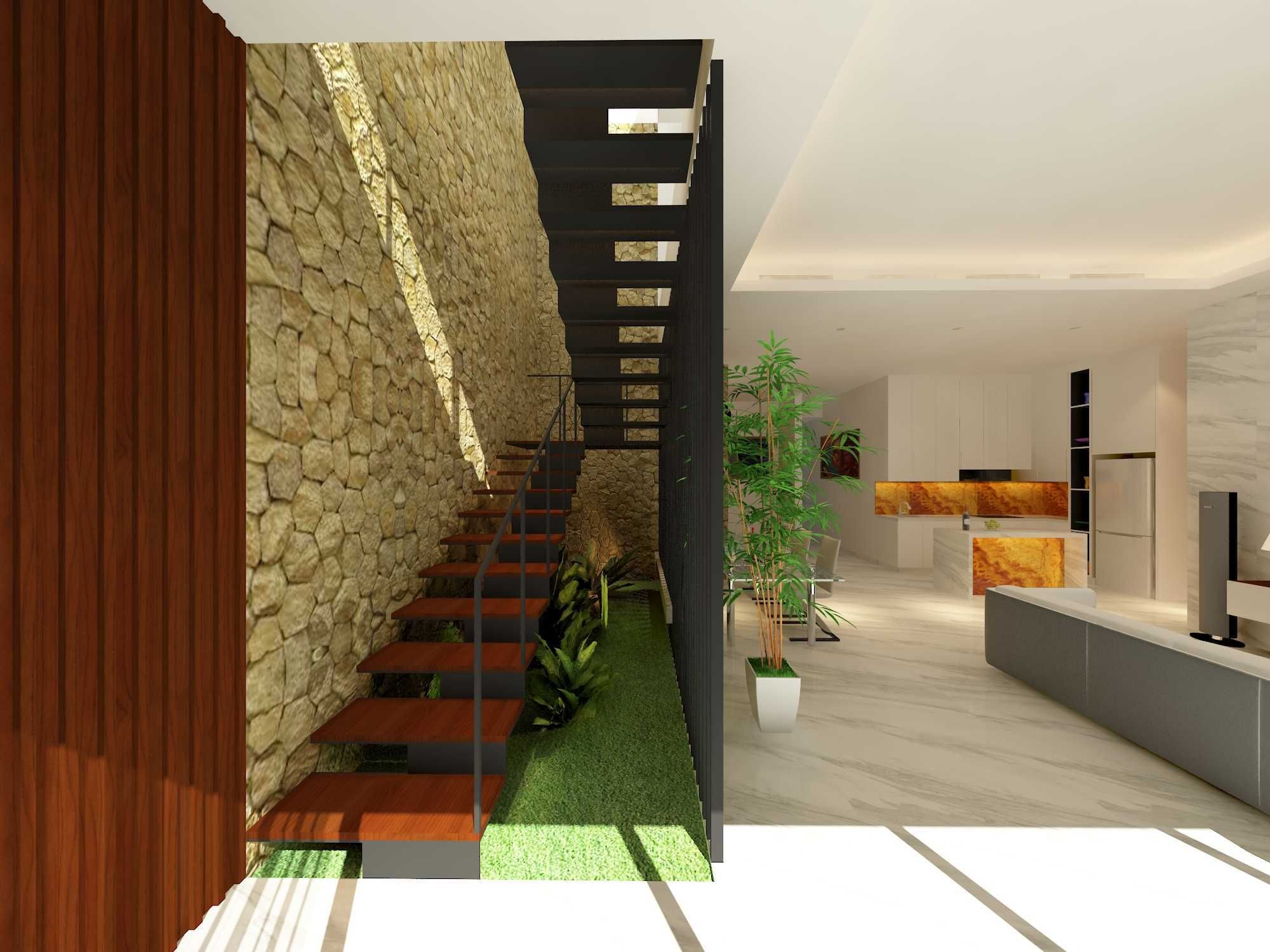 Alima Studio Mr. A's House Jakarta, Indonesia Jakarta, Indonesia Stairs   27837