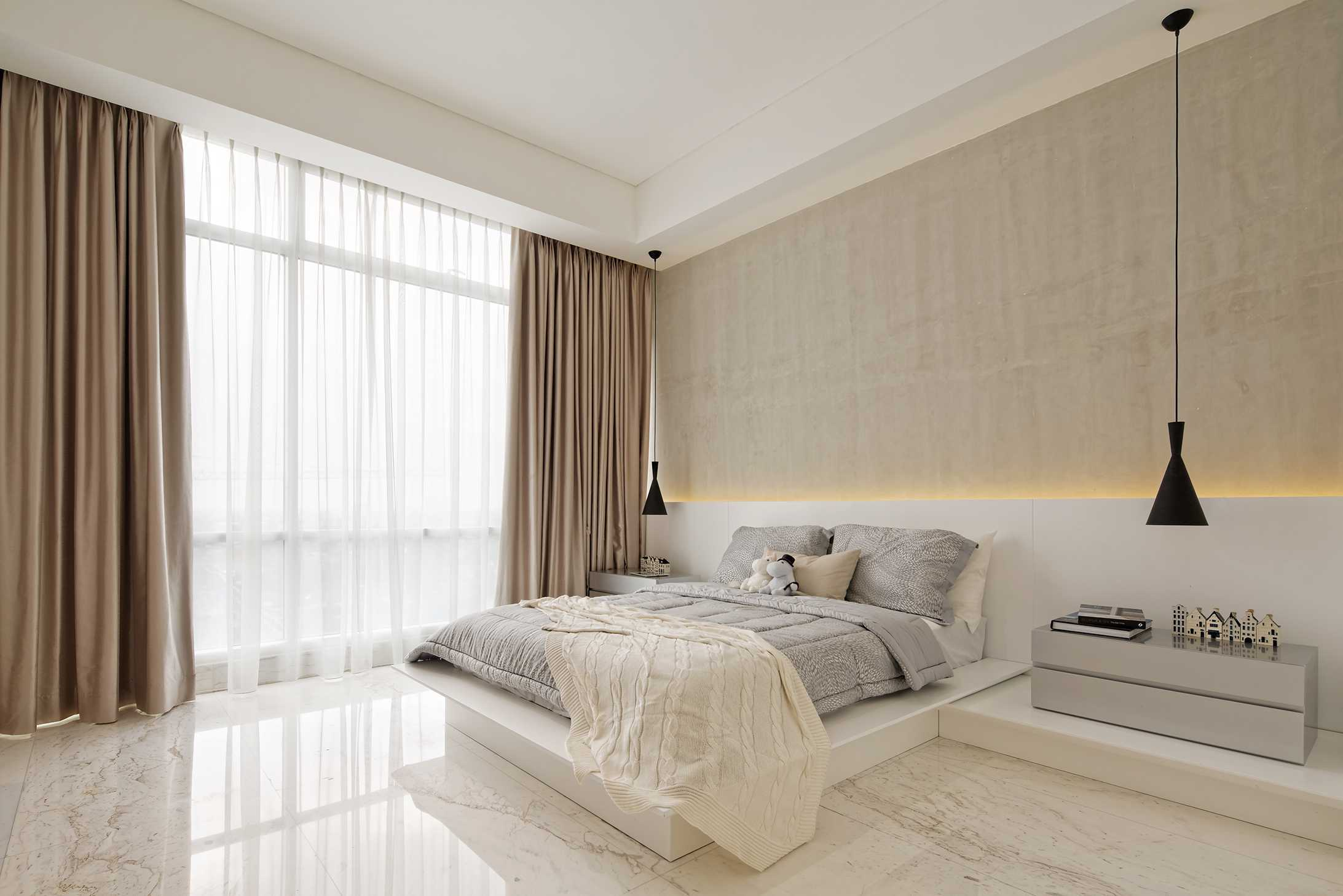 Sontani Partners 11A Residence South Jakarta, Indonesia South Jakarta, Indonesia Bedroom Contemporary,modern,tropical,scandinavian,kontemporer,industrial,wood  21399
