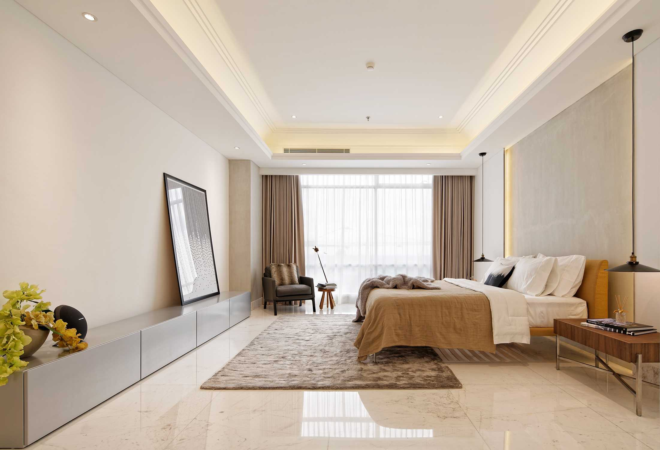 Sontani Partners 11A Residence South Jakarta, Indonesia South Jakarta, Indonesia Master Bedroom Kontemporer,industrial,wood,modern  21403