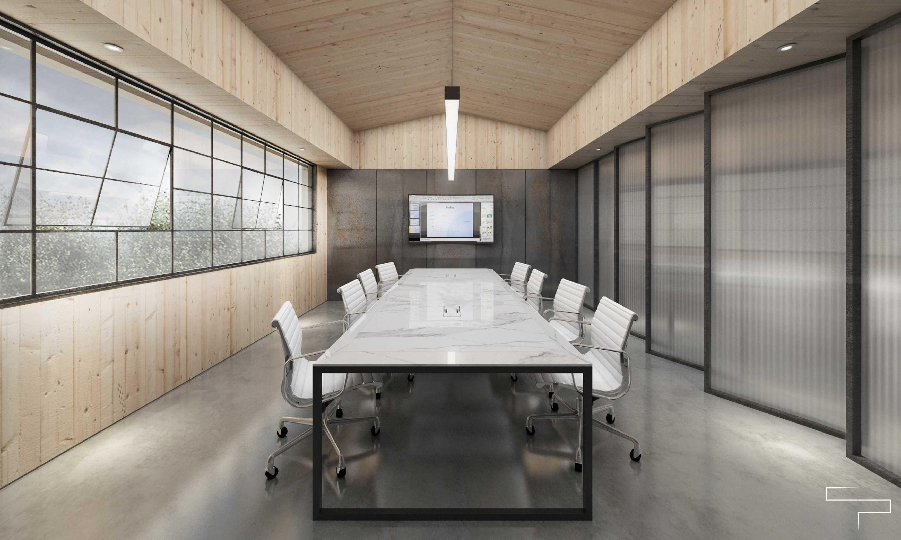 Sontani Partners Abc Office Kamal, North Jakarta Kamal, North Jakarta Meeting Room Industrial,kontemporer,wood,modern  23372
