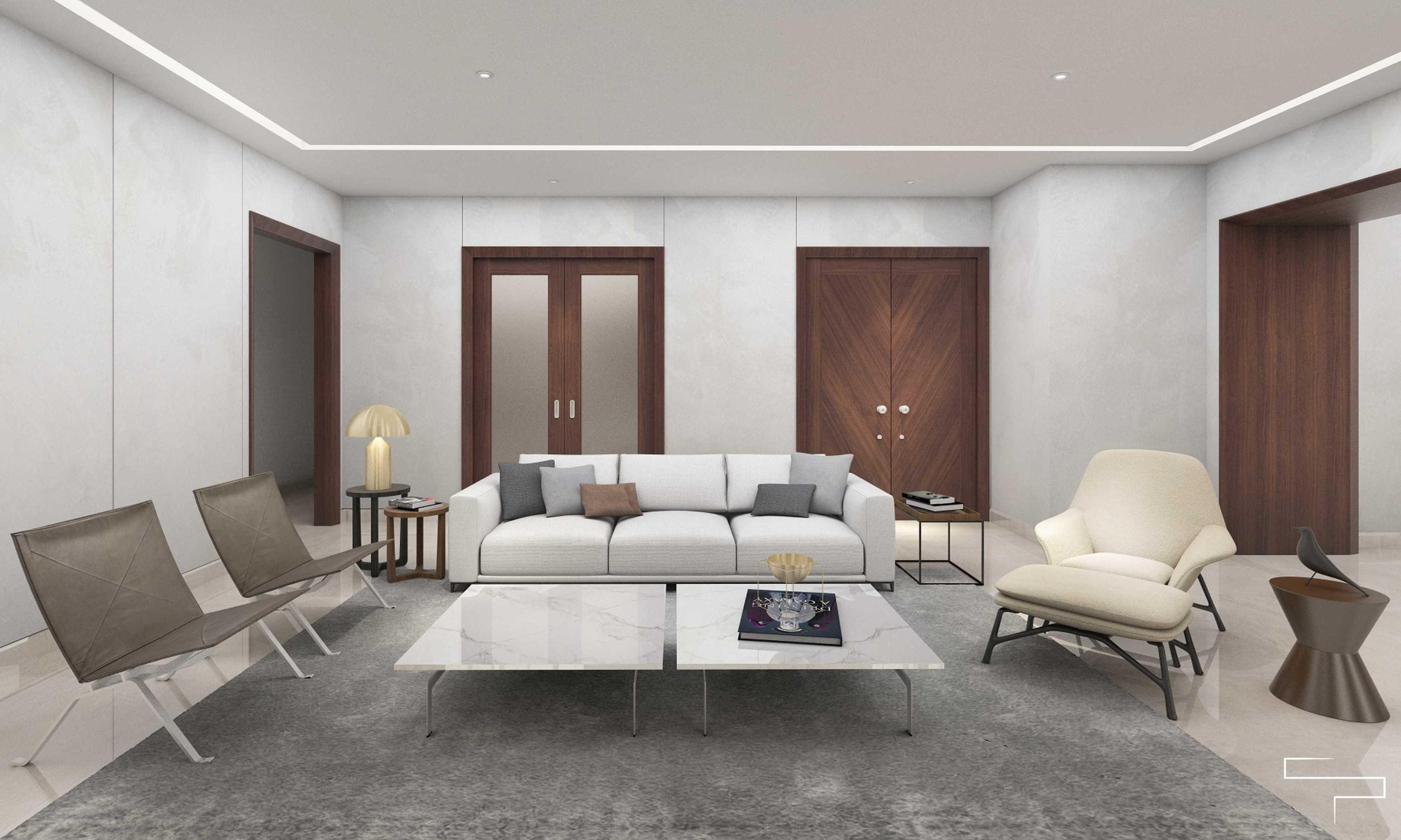 Sontani Partners 9B Residence Pakubuwono  Pakubuwono  Living Room Kontemporer,wood,modern  27617