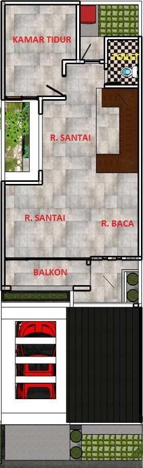 Freddy Rumah Kalibata Kalibata - Jakarta Kalibata - Jakarta Denah-L2   22780