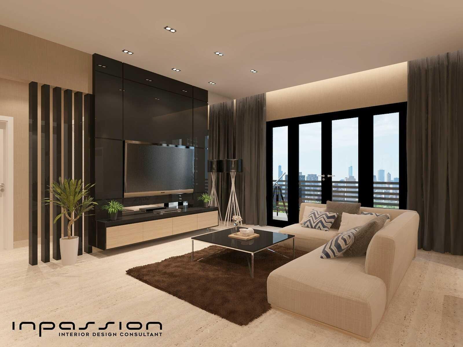 Inpassion Interior Design Apartment Surabaya City, East Java, Indonesia Jakarta Living Room Minimalis,modern  22167