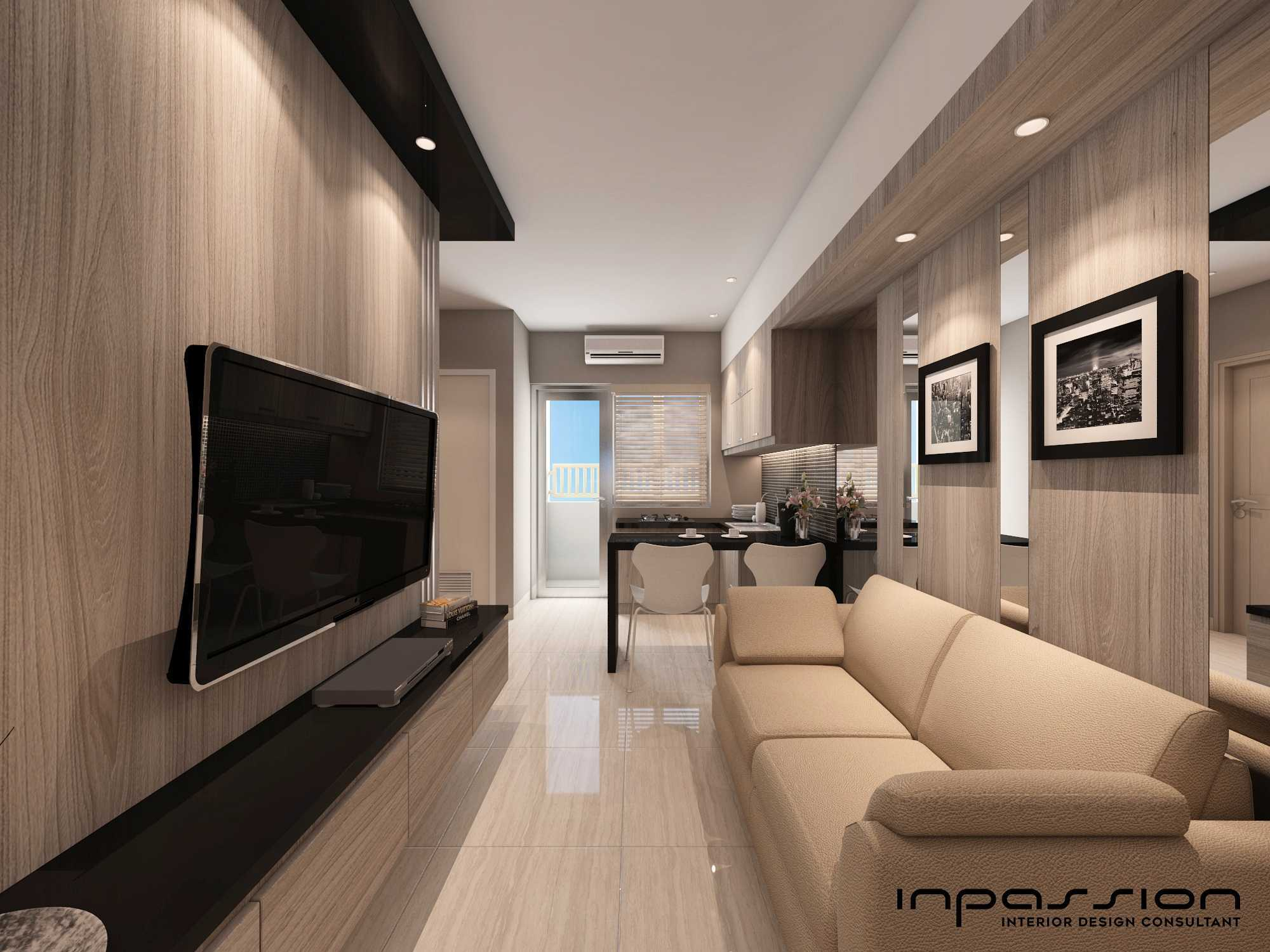 Inpassion Interior Design Educity Apartemen 3 Bedroom Surabaya City, East Java, Indonesia Surabaya City, East Java, Indonesia Img20170503150453137 Kontemporer  31364