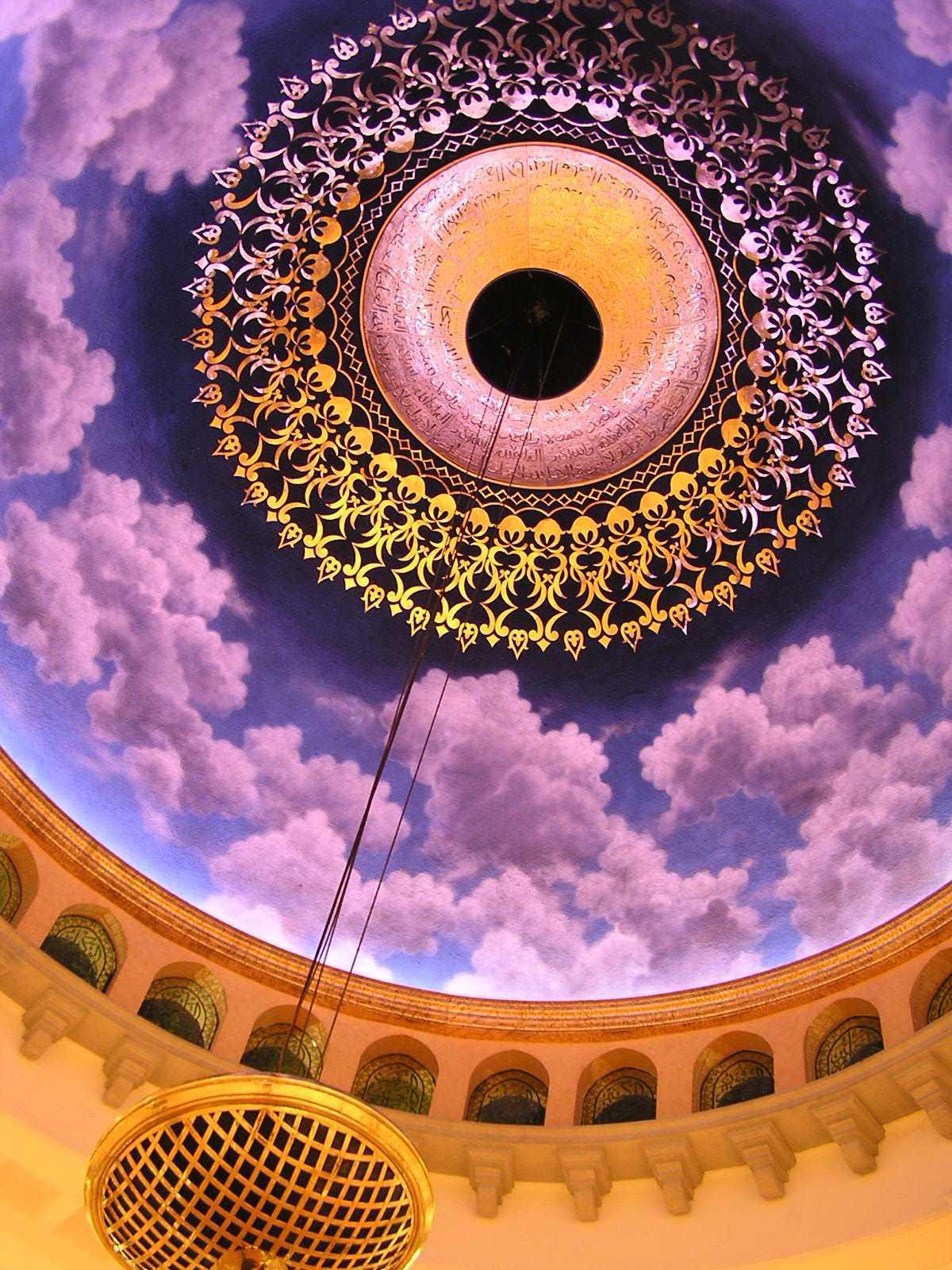 Pt. Garisprada Kubah Emas Mosque Meruyung, Limo, Depok City, West Java, Indonesia Depok Ceiling Klasik  22023