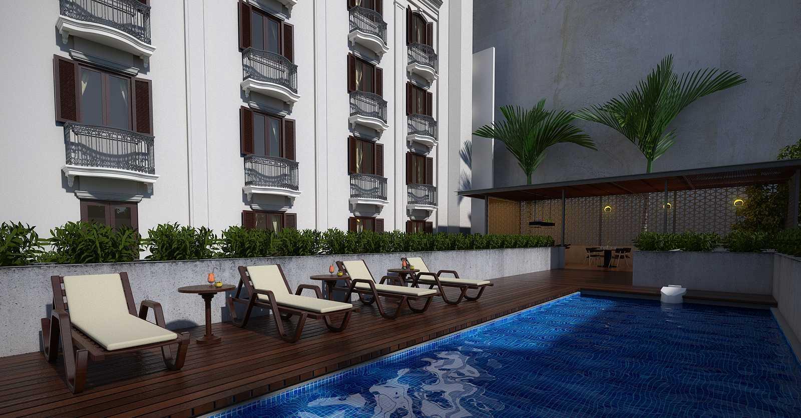 Pt. Garisprada Des Indes Hotel Menteng, Central Jakarta City, Jakarta, Indonesia Menteng Pool Area Kontemporer  22608