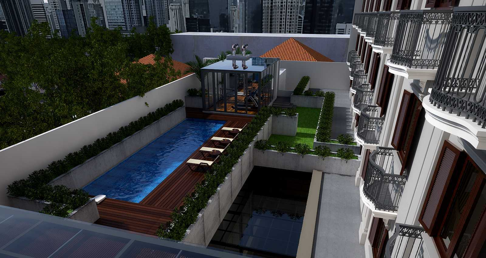Pt. Garisprada Des Indes Hotel Menteng, Central Jakarta City, Jakarta, Indonesia Menteng Pool View Kontemporer  22609