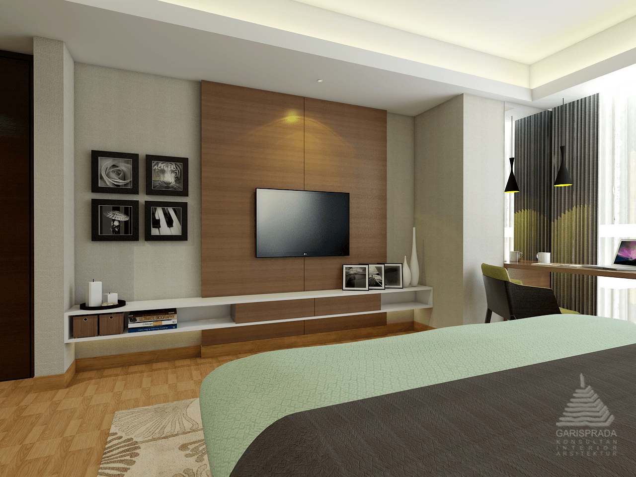 Pt. Garisprada Setiabudi Skygarden Apartmen Setiabudi, South Jakarta City, Jakarta, Indonesia Setiabudi Jakarta Bedroom Skandinavia  25401
