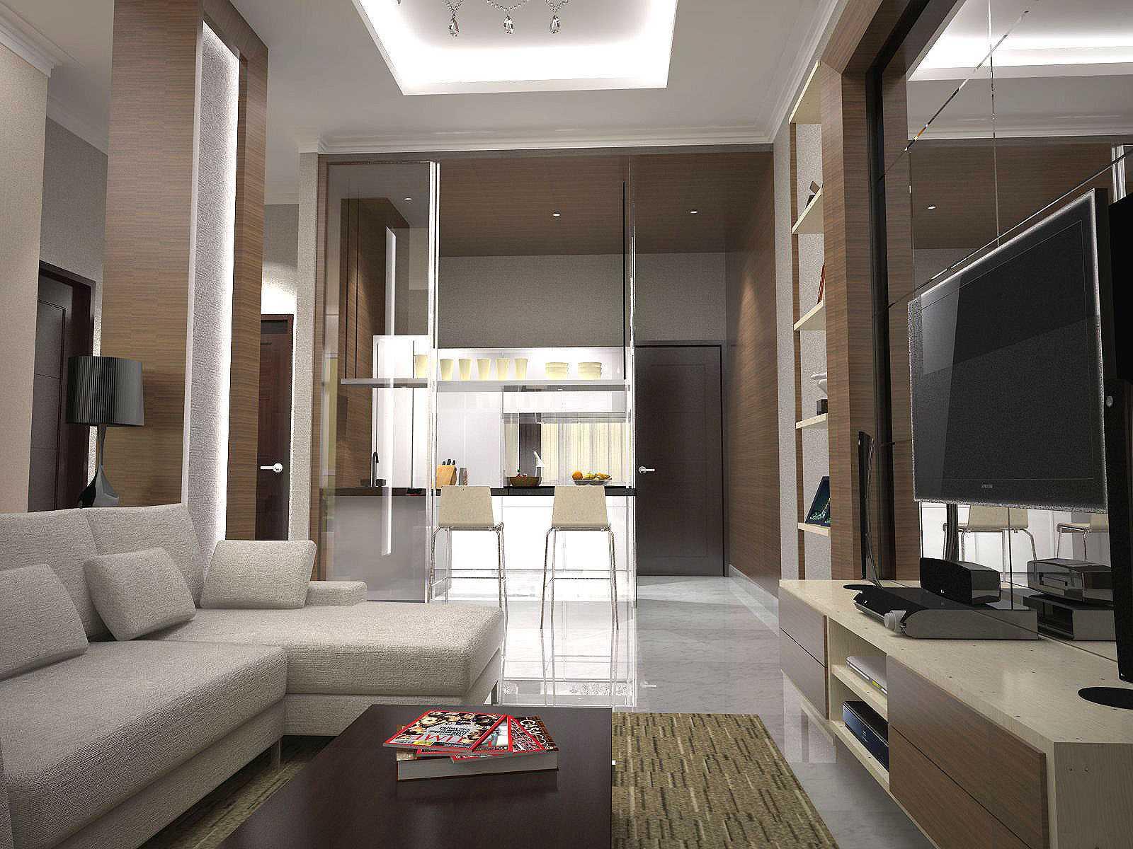 Pt. Garisprada Residences 8 Apartment Residence 8, Senopati, Jakarta Residence 8, Senopati, Jakarta Living Room Modern  25486