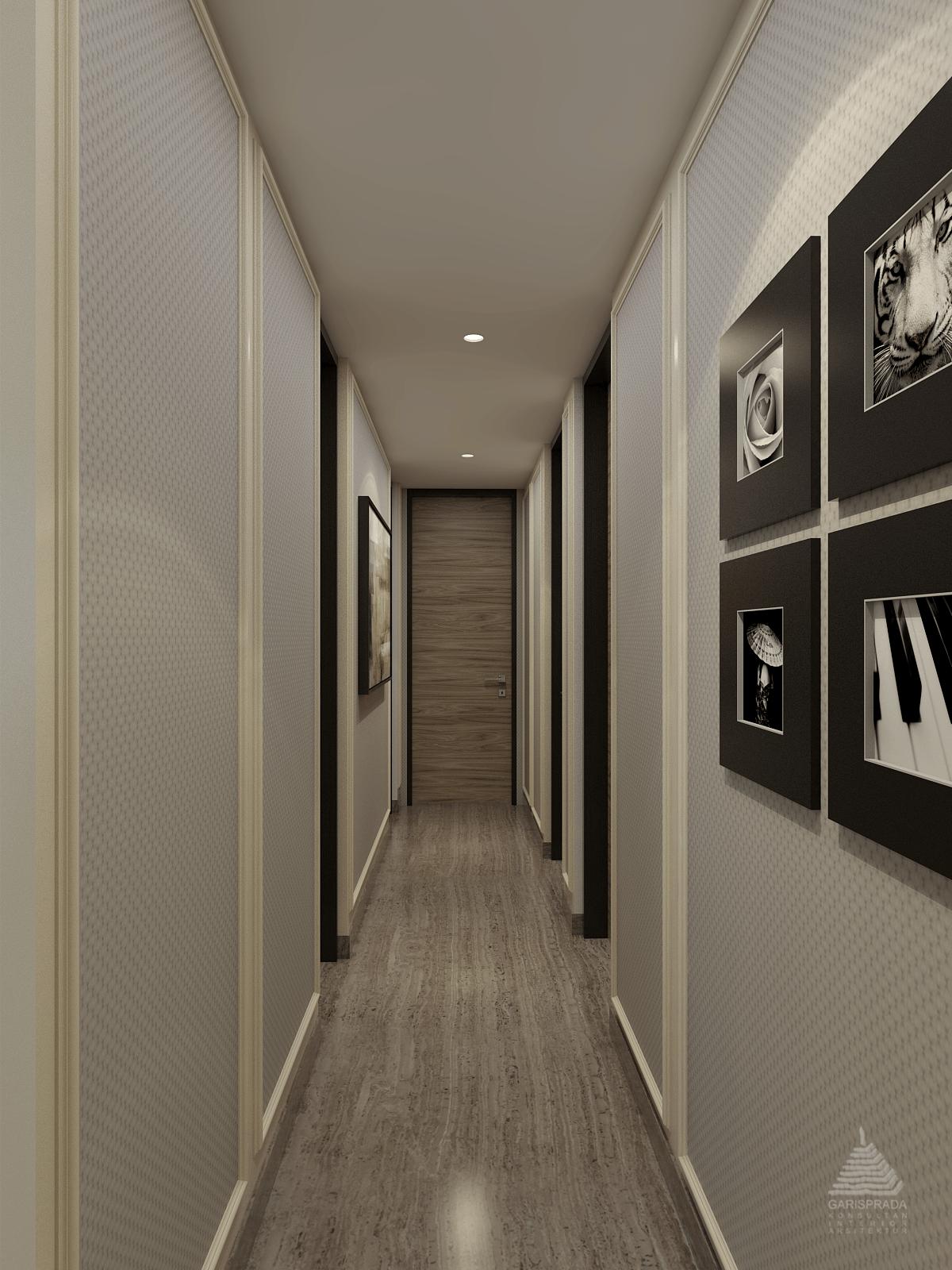 Photo Corridor Kemang Village Apartment 6 desain arsitek ...