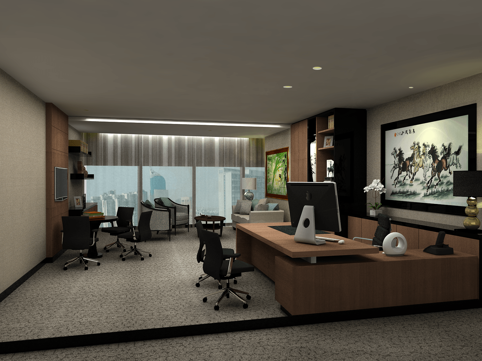 Pt. Garisprada Tcc Karet Karet Director-Men-5-Copy Klasik <P>Directors' Room. This Room Is A Little Bit Lighter And Simple Compared To The Ceo Room In Order To Show The Hierarchy Of The Organization Structure.</p> 25754