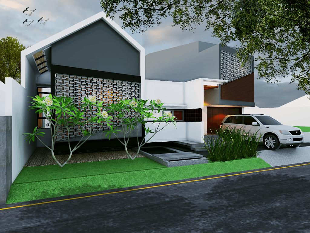 Studio Mifanolu Rumah Stm 2 Medan Medan Front View Kontemporer  26387