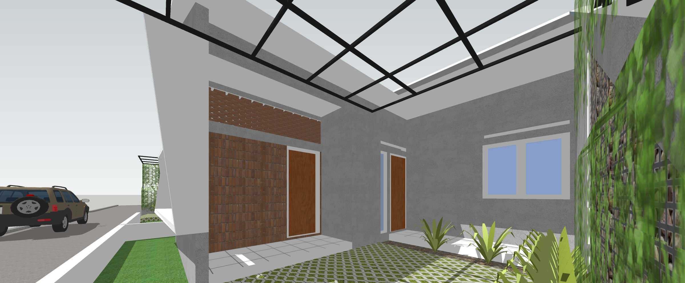 Studio Mifanolu Tj Couple House Kabupaten Deli Serdang, Sumatera Utara, Indonesia Kabupaten Deli Serdang, Sumatera Utara, Indonesia Garage Tropical,tropis  39680