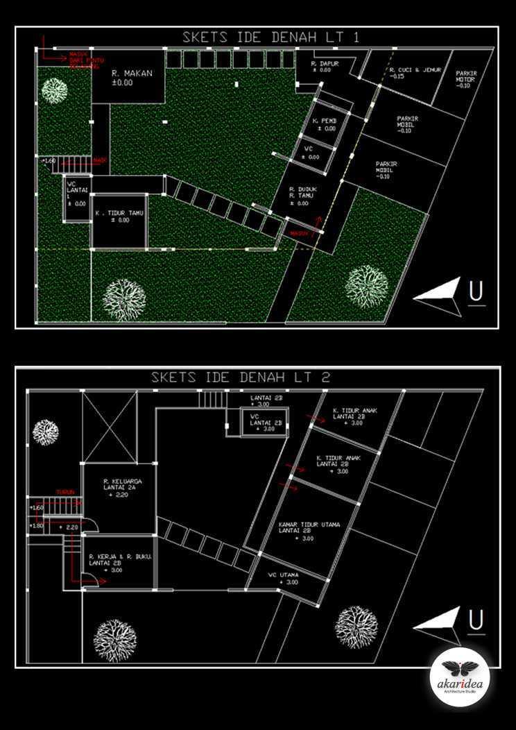 Antoni Winata Citra House 1 (2009) Citra Garden I, West Jakarta Citra Garden I, West Jakarta Floor Plan   23099