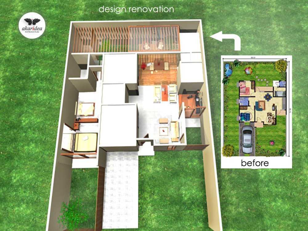 Antoni Winata Citra House 2 Citra Garden 2, West Jakarta Citra Garden 2, West Jakarta Floorplan Tropis Design Renovation 23104