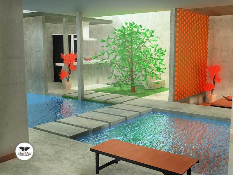 Antoni Winata Joglo House Kavling Dki, Joglo, Jakarta Barat Kavling Dki, Joglo, Jakarta Barat Water Pool Kontemporer,tropis,wood  23108