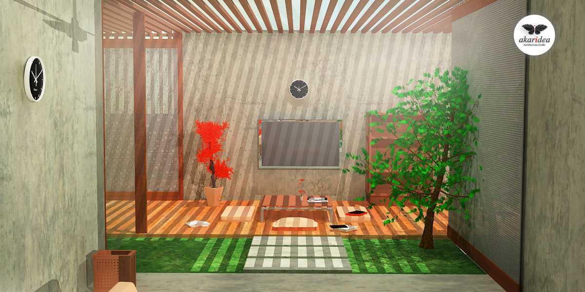 Antoni Winata Joglo House Kavling Dki, Joglo, Jakarta Barat Kavling Dki, Joglo, Jakarta Barat Terrace Kontemporer,tropis,wood  23115