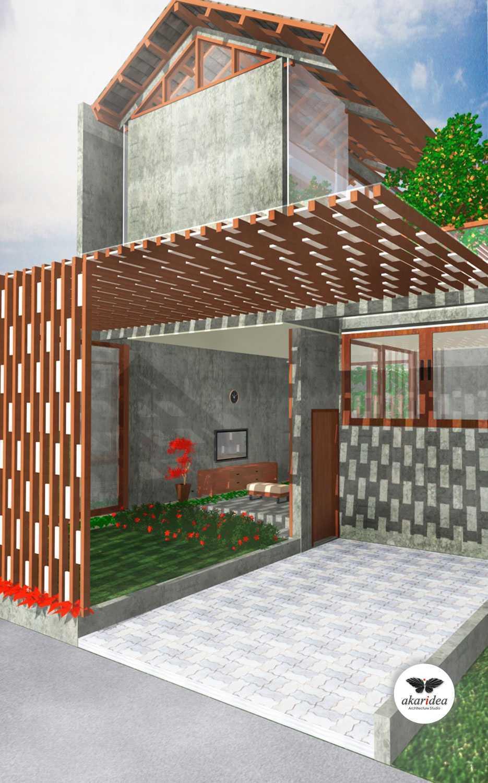 Antoni Winata Bojongkoneng House Bojongkoneng, Bandung Bojongkoneng, Bandung Front Facade Kontemporer,tropis,wood,modern Open 23166