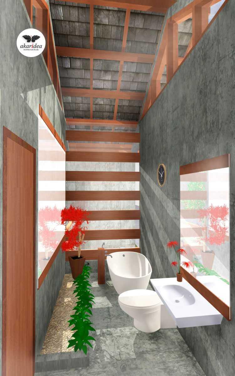 Antoni Winata Bojongkoneng House Bojongkoneng, Bandung Bojongkoneng, Bandung Bathroom Kontemporer,tropis,modern,wood  23175