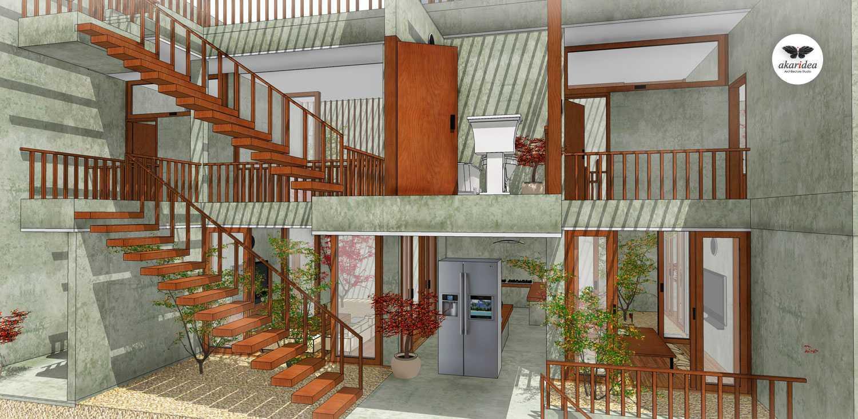 Antoni Winata Meruya House Meruya, West Jakarta Meruya, West Jakarta Staircase Kontemporer,minimalis,tropis,wood,modern,industrial  23208