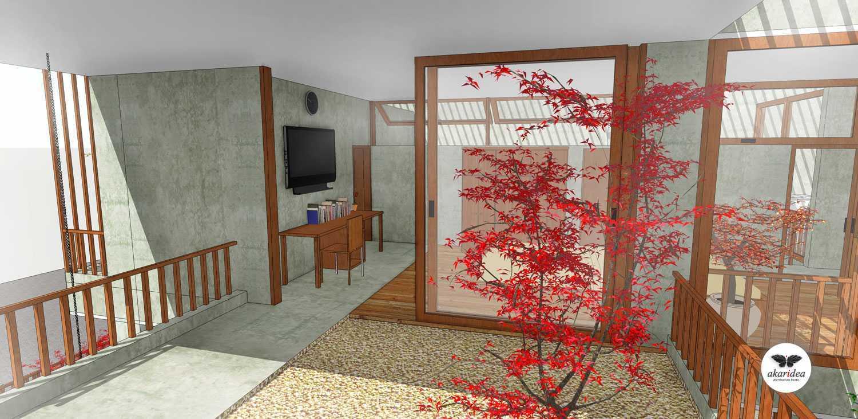Antoni Winata Meruya House Meruya, West Jakarta Meruya, West Jakarta Masterbedroom & Balcony Kontemporer,tropis,modern,minimalis,industrial,wood  23211
