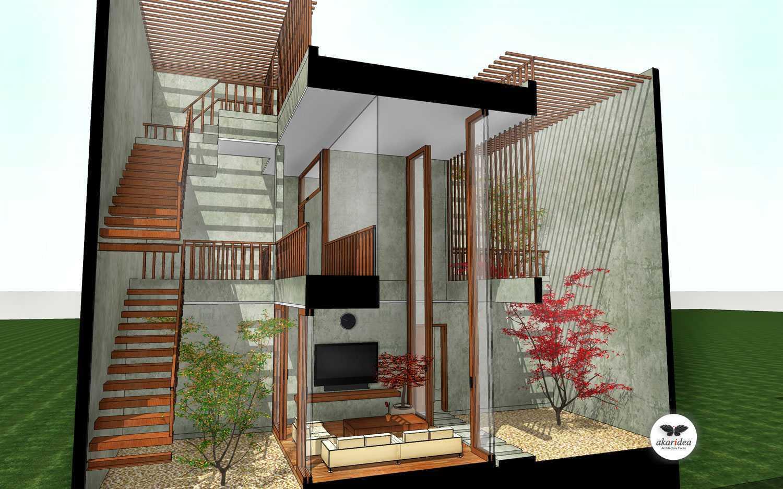 Antoni Winata Meruya House Meruya, West Jakarta Meruya, West Jakarta Section Living Room Kontemporer,tropis,modern,minimalis,industrial,wood  23213