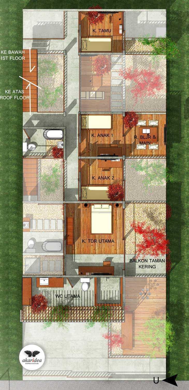 Antoni Winata Meruya House Meruya, West Jakarta Meruya, West Jakarta 1St Floor Plan   23218