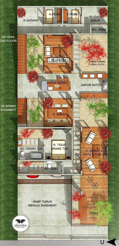 Antoni Winata Meruya House Meruya, West Jakarta Meruya, West Jakarta 2Nd Floor Plan   23219