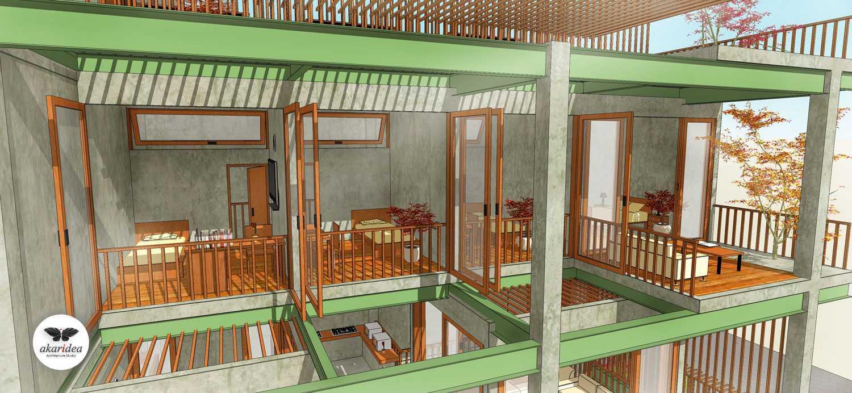 Antoni Winata Sidoarjo House Sidoarjo Sidoarjo Bedroom Open Kontemporer,minimalis,tropis,modern Right Section 23265