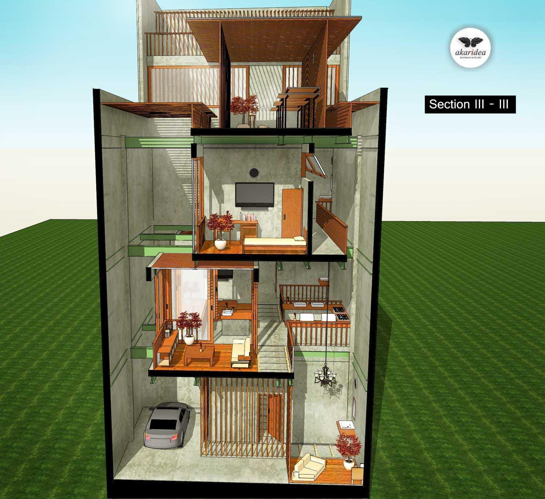 Antoni Winata Sidoarjo House Sidoarjo Sidoarjo Section Iii-Iii Kontemporer,tropis,modern,minimalis  23270