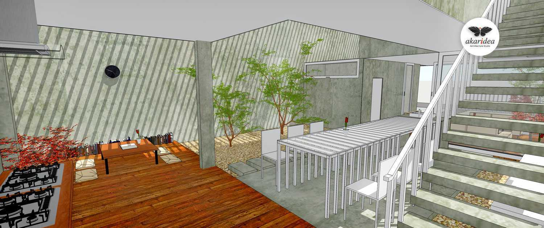 Antoni Winata W - House East Jakarta East Jakarta Kitchen & Dining Area Kontemporer,minimalis,tropis,wood,modern  23298