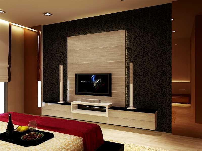 Donny Steven Massie The Apartement Pakubuono Pakubuono Revisi-Panel-Tv Modern  23466