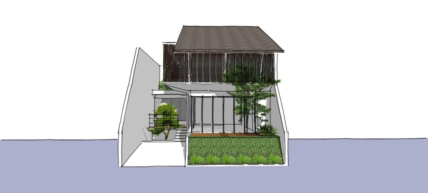 Segitiga Studio Rumah K Jakarta Jakarta Front View   22509