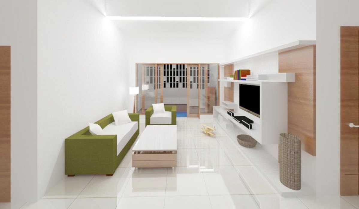 Rqt8 Brick House Jakarta, Indonesia Jakarta Ruang-Keluarga-Dan-Mushola-2 Modern  22601