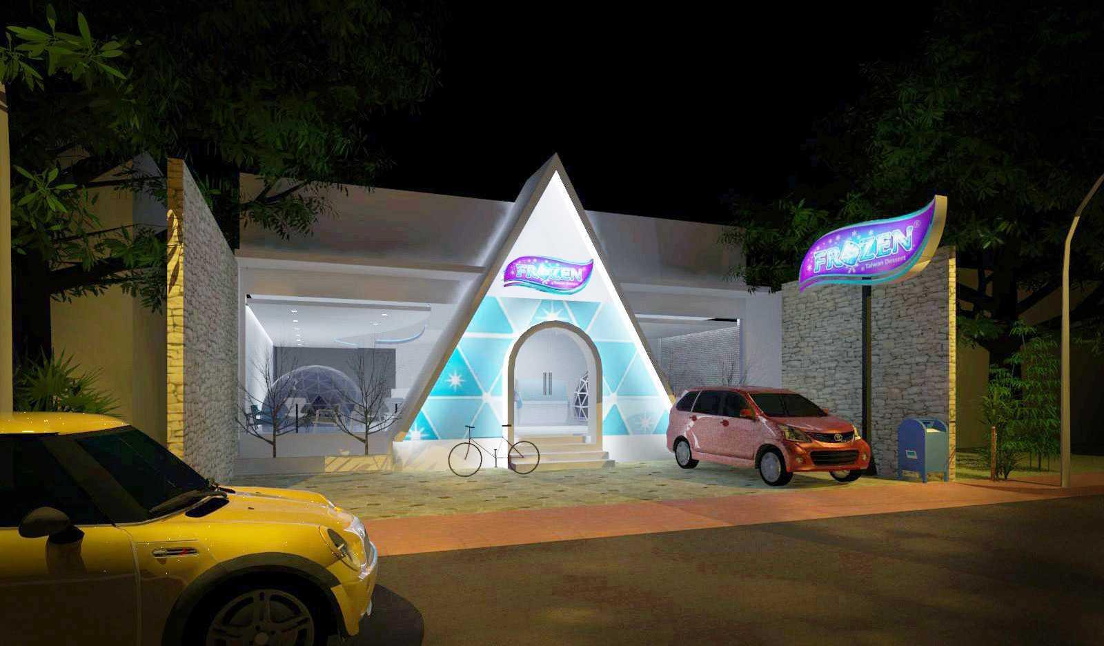 Rqt8 Frozen Cafe Garut Kota, Garut Regency, West Java, Indonesia Garut Night-Rendering-Facade-Edited   26815