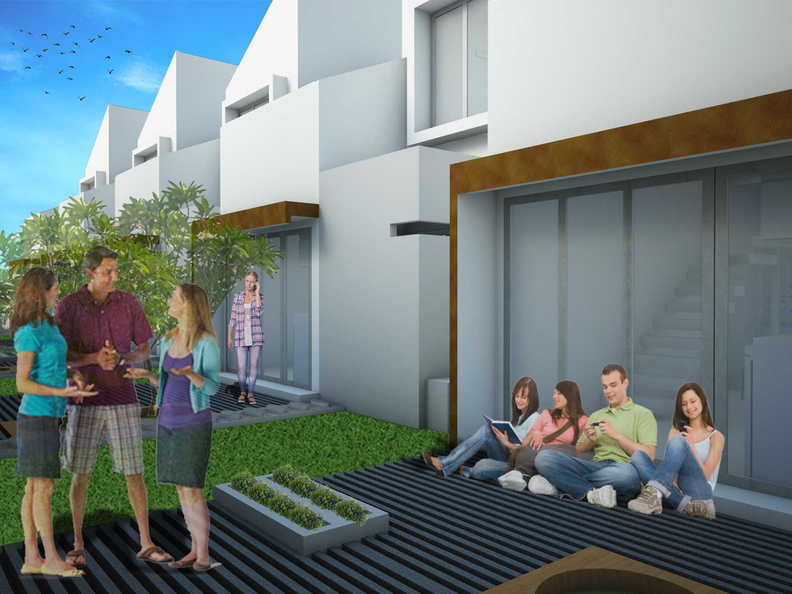 Vishaka Architect Studio Multi Unit Housing 1 Surabaya, Indonesia Surabaya, Indonesia T36-Havila-Bg   23087