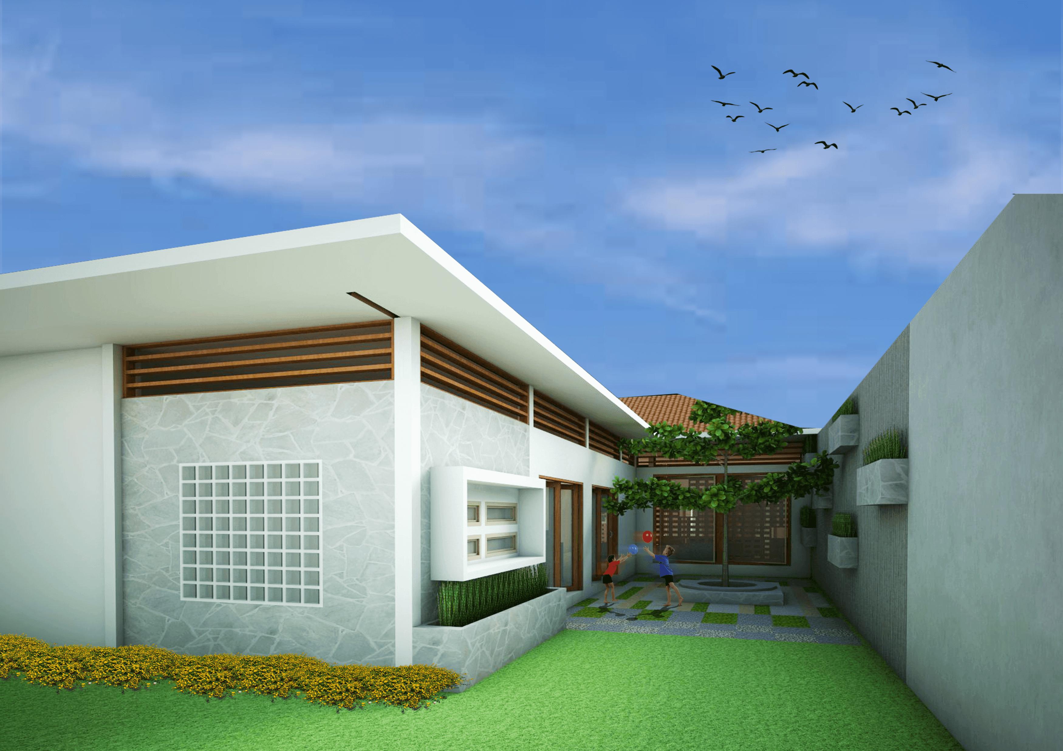 Vishaka Architect Studio Rumah A5 Sleman Regency, Special Region Of Yogyakarta, Indonesia Sleman Regency, Special Region Of Yogyakarta, Indonesia Eksterior-2   32488