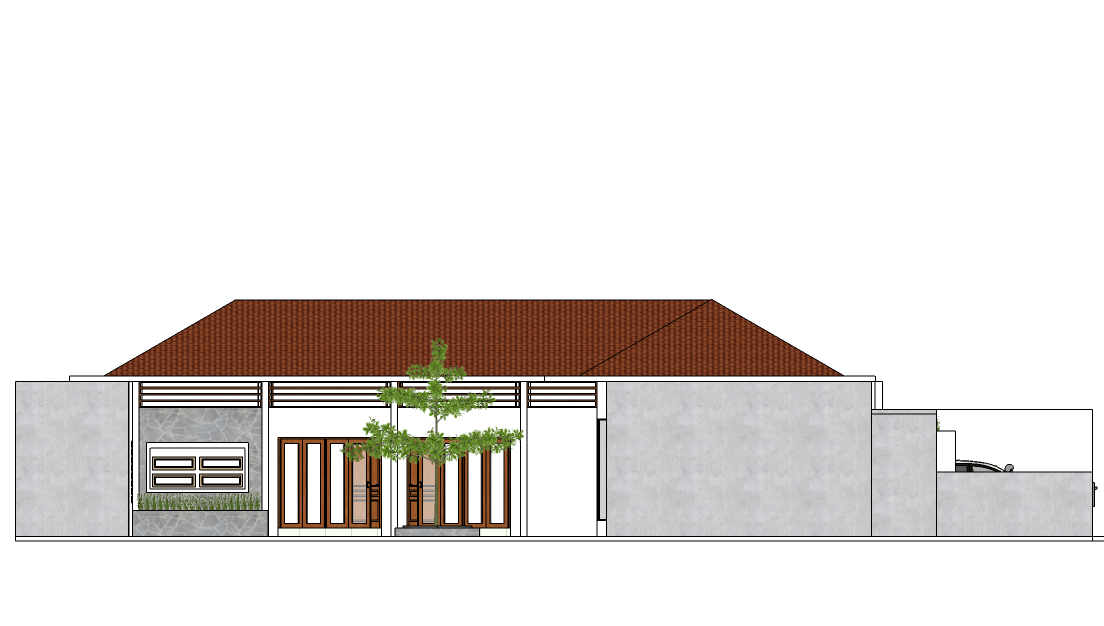 Vishaka Architect Studio Rumah A5 Sleman Regency, Special Region Of Yogyakarta, Indonesia Sleman Regency, Special Region Of Yogyakarta, Indonesia Tampak-Samping   32493