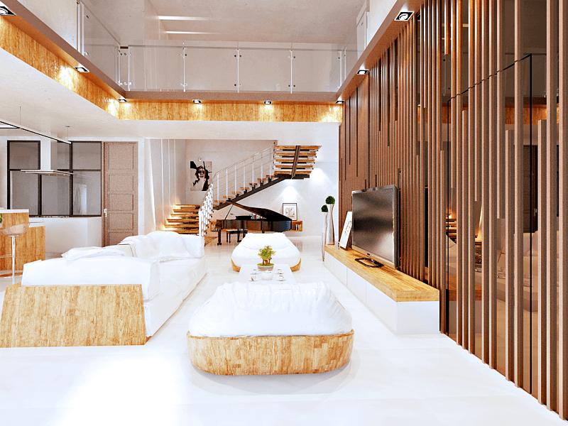 Hive Design & Build Camar Residence Pantai Indah Kapuk Pantai Indah Kapuk Living-Room   23328