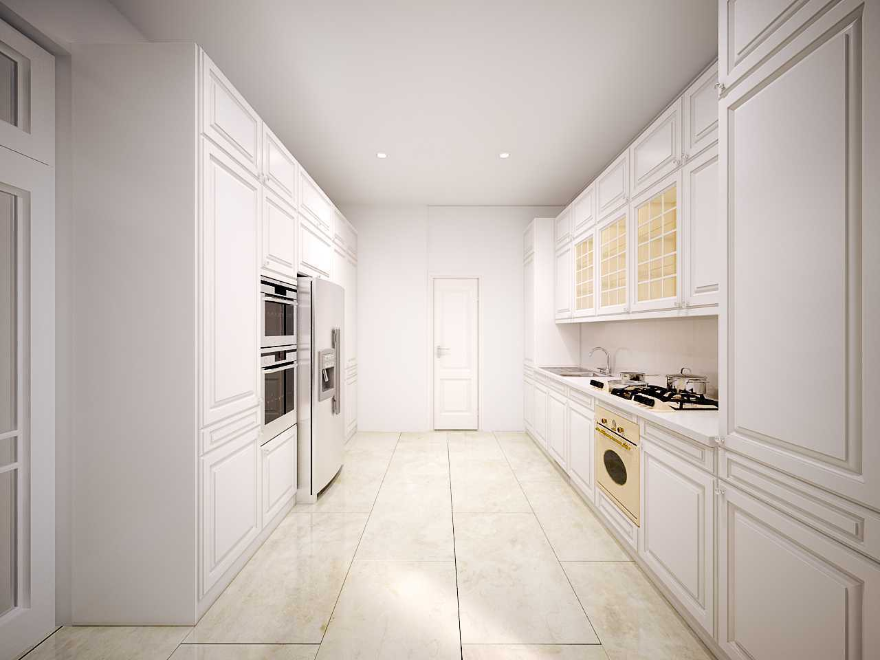 Photo Kitchen-Layout-Pertama Taman Kencana 8 desain ...