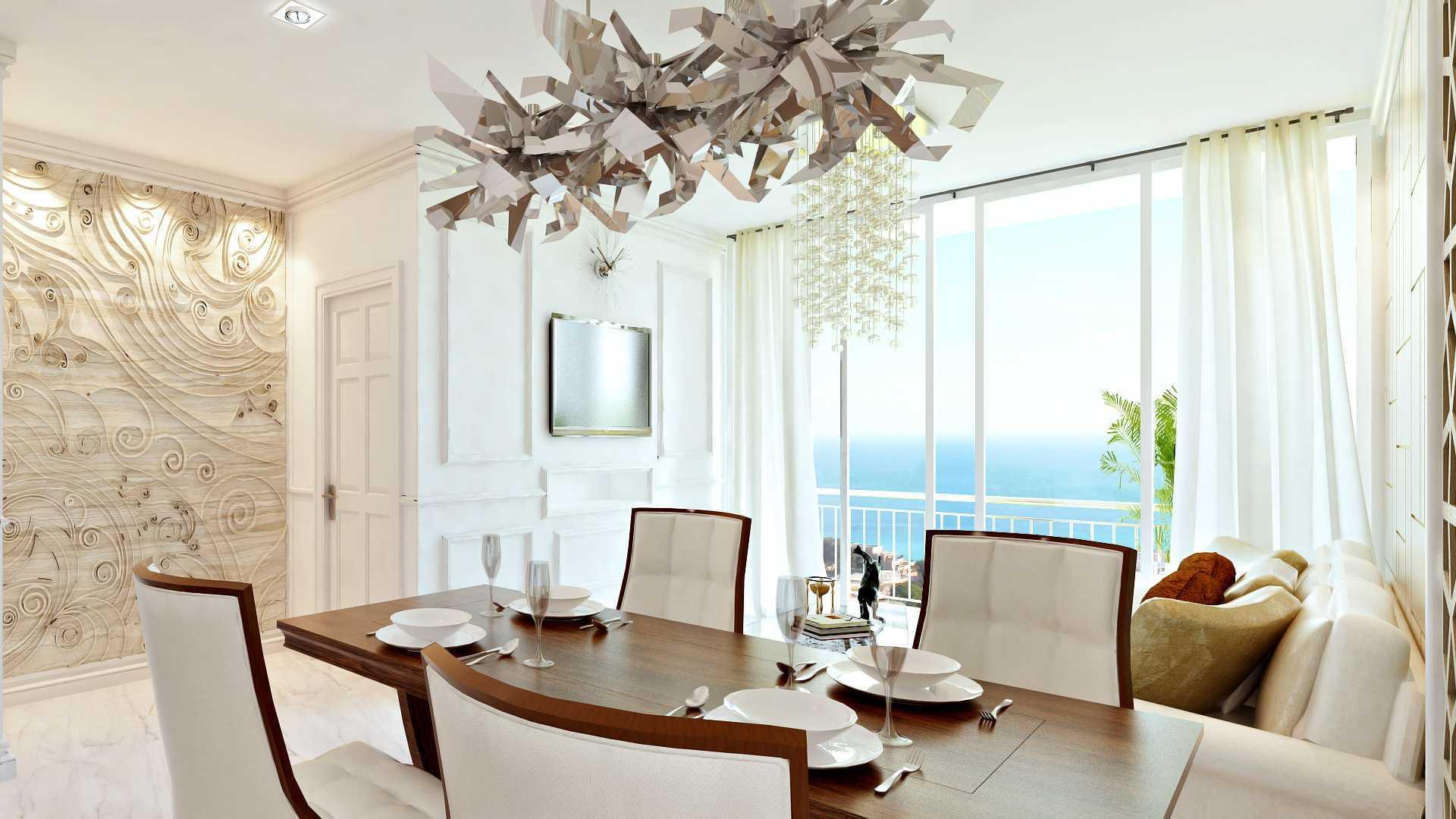 Hive Design & Build Ancol Mansion Jakarta Utara Jakarta Utara Dining Room Kontemporer  25931