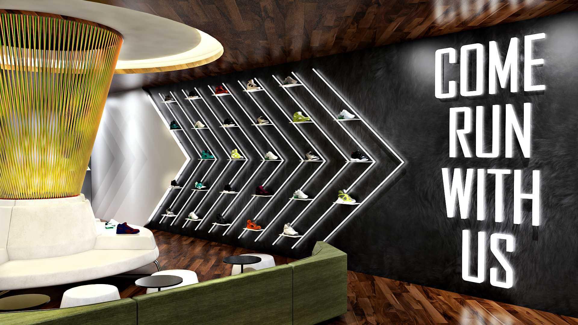 Hive Design & Build Lounge Nike Jakarta  Jakarta  Interior Kontemporer  25948