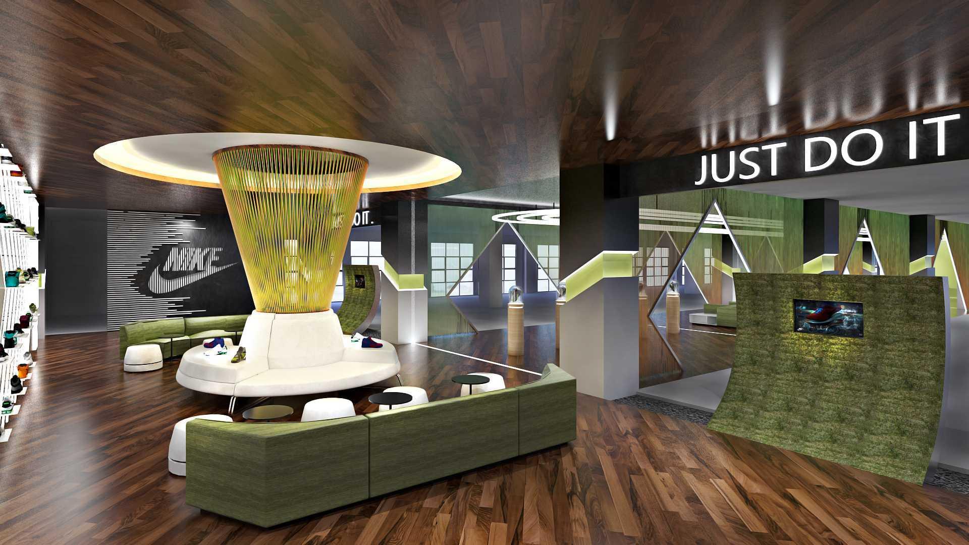 Hive Design & Build Lounge Nike Jakarta  Jakarta  Interior Kontemporer  25949