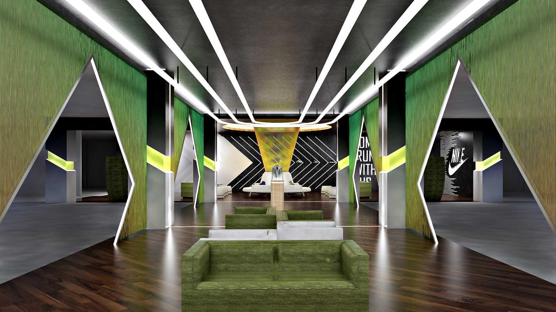 Hive Design & Build Lounge Nike Jakarta  Jakarta  Seating Area Kontemporer  25950