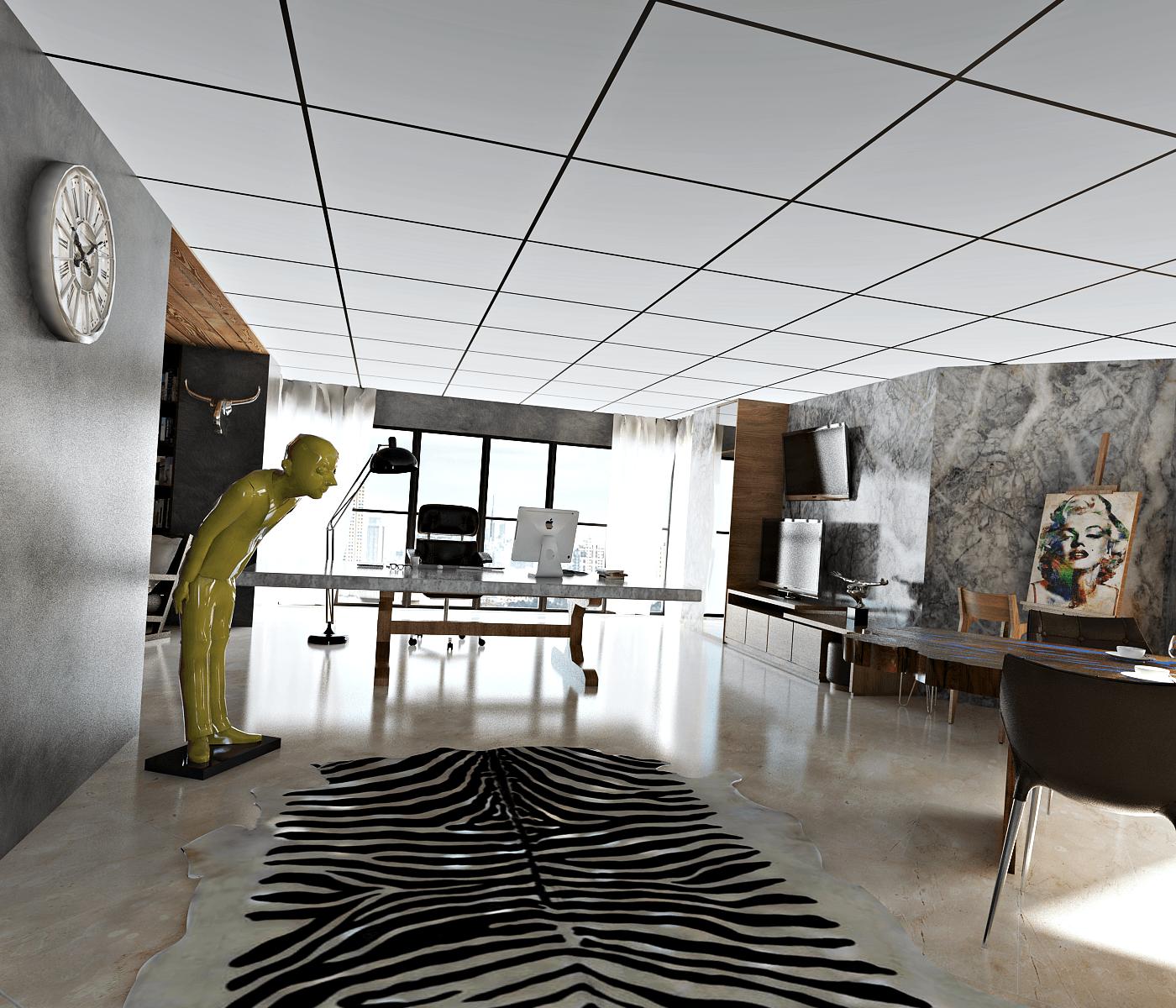 Hive Design & Build Four Seasons Apartment  Jakarta Jakarta Work Minimalis  25959