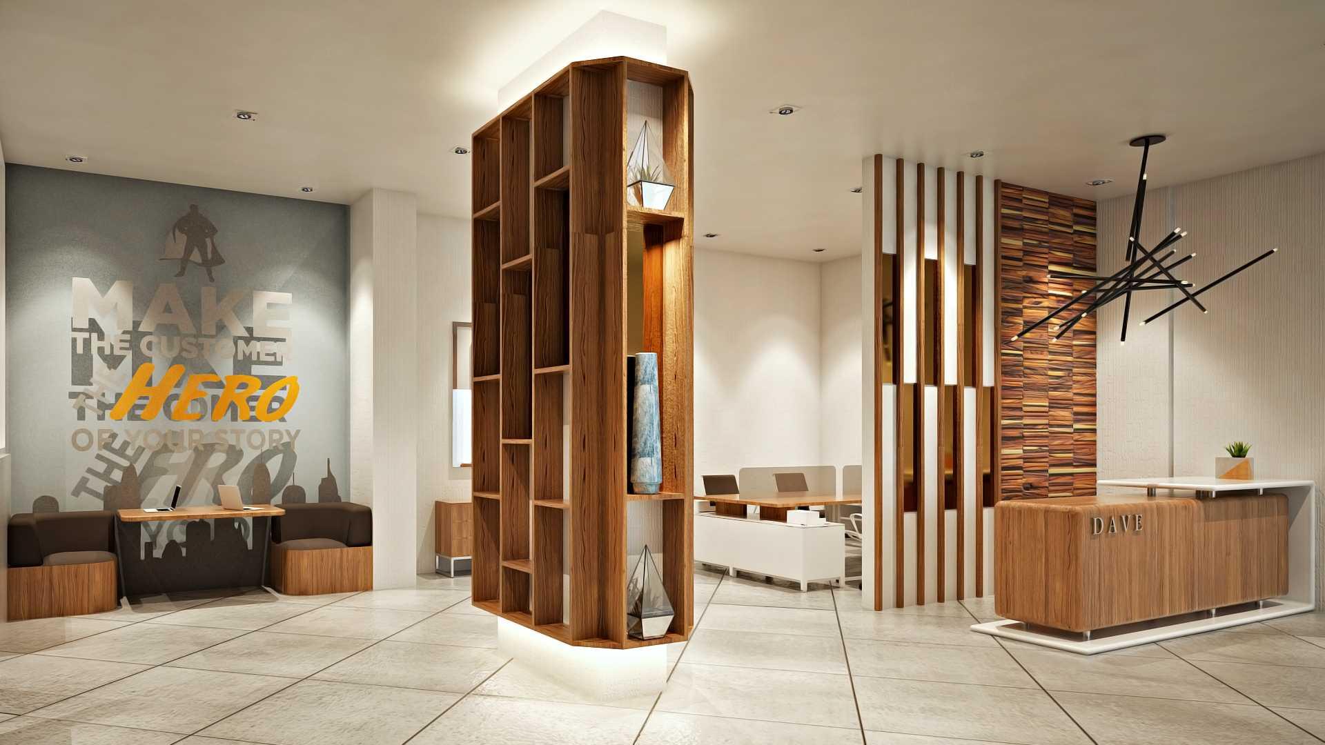 Hive Design & Build Dave Depok Depok Marketing Office Modern  25961