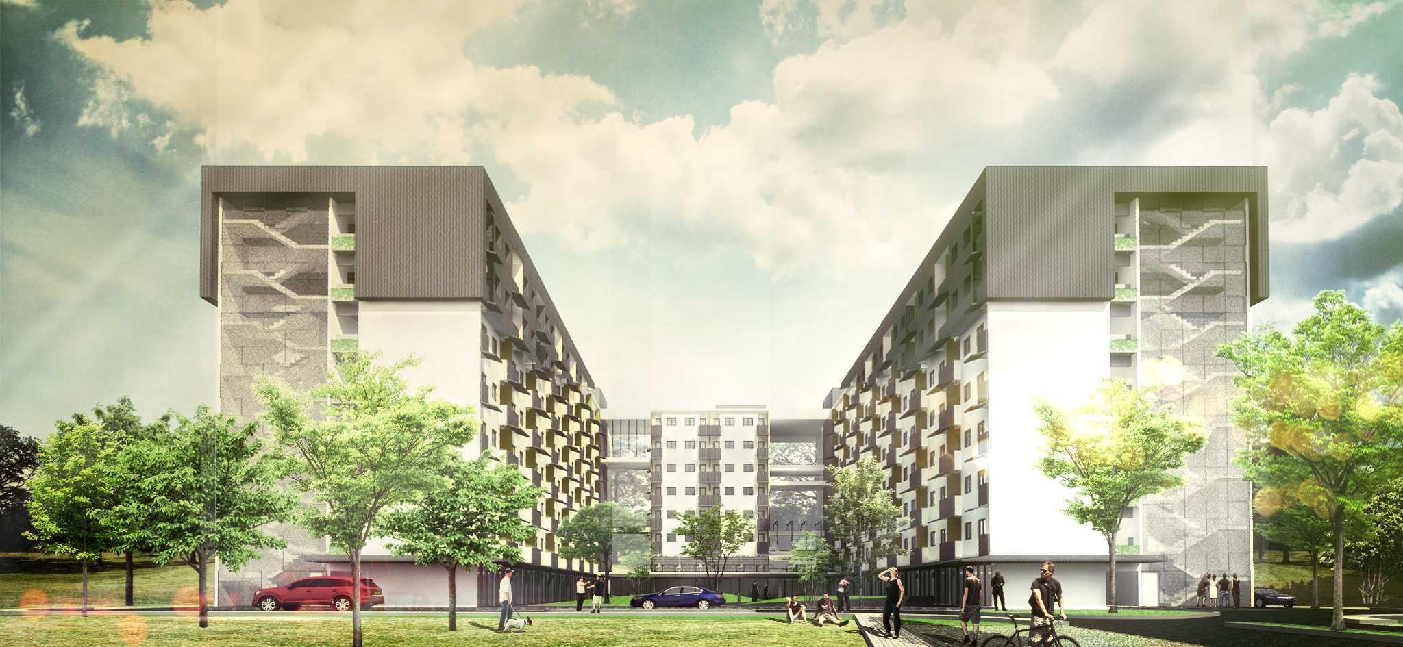 Dimas Andrea Adedepark & Apartment Cibitung Cibitung, Bekasi Cibitung, Bekasi 140415Cibitung-Exteriorview-01 Modern  23457